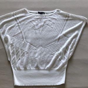 Sheer lightweight sweater top